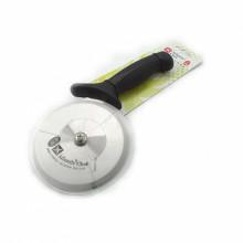 Нож для пиццы роликовый с черной ручкой Atlantic Chef, d=10 см