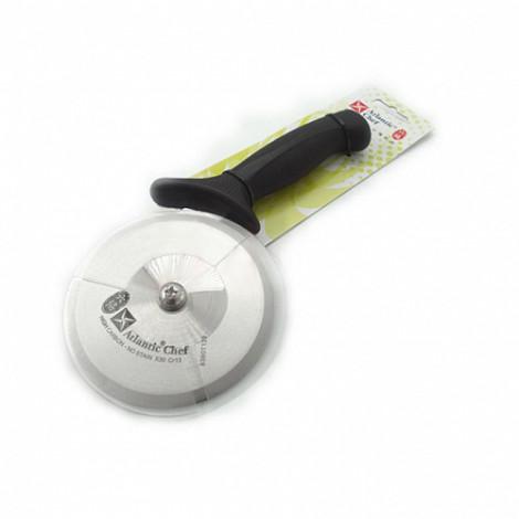 Нож для пиццы роликовый с черной ручкой Atlantic Chef, D=10